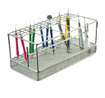 Vertical instrument rack